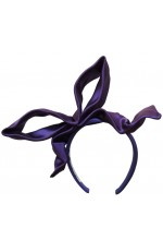 HAIRBAND WITH UNTIED BOW