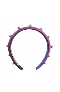 THIN HAIRBAND WITH SPHERICAL STUDS